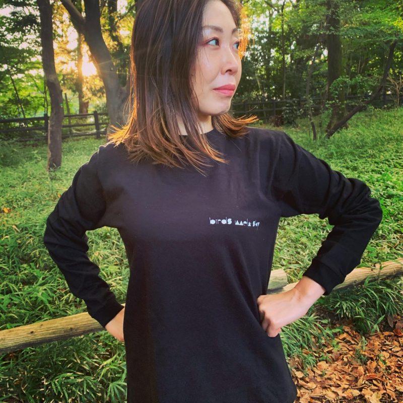 ロングスリーブTシャツ ブラック S